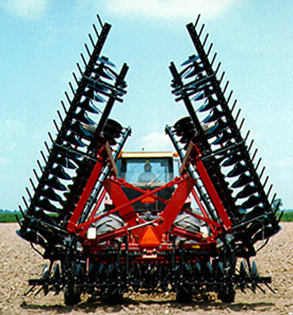 1 Bar Harrow on tractor image