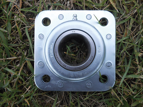 "Heavy Duty 1-1/4"" Flanged Disk Bearing"