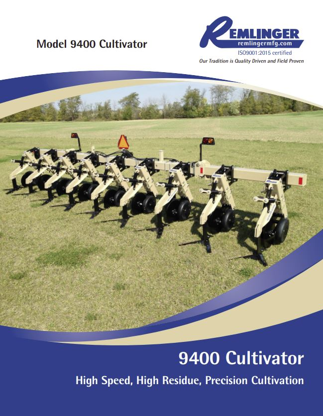 9400 Cultivator Brochure Cover