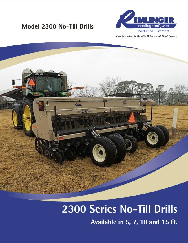 2300 Series No-Till Drill Brochure Cover