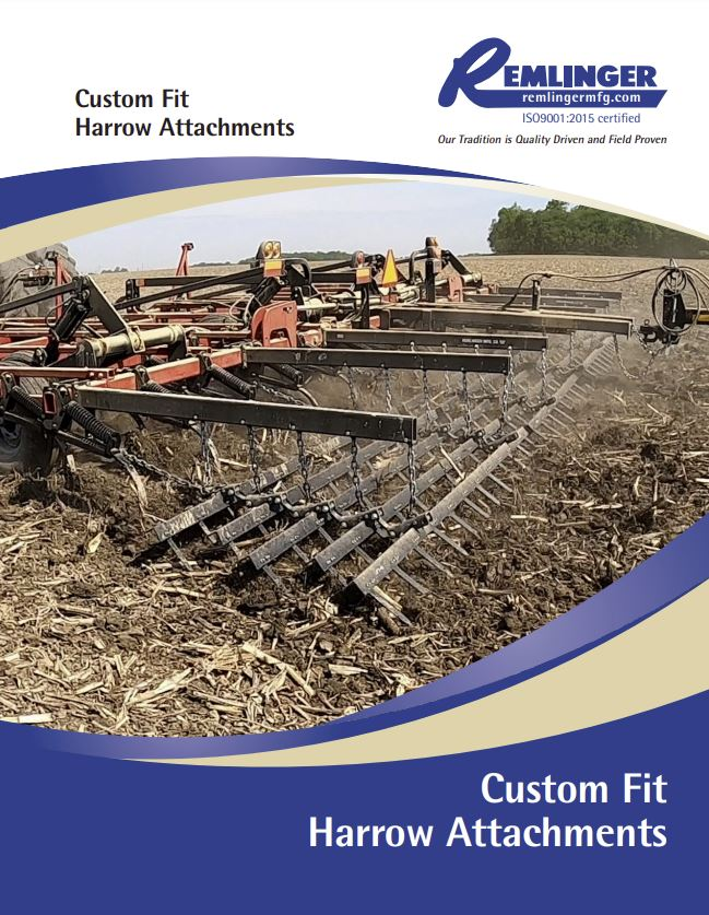 Harrow Attachments Brochure Cover
