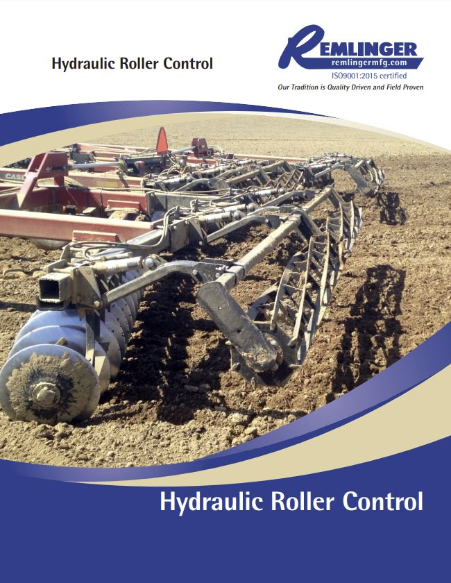 Remlinger Hydraulic Roller Harrow Brochure Cover