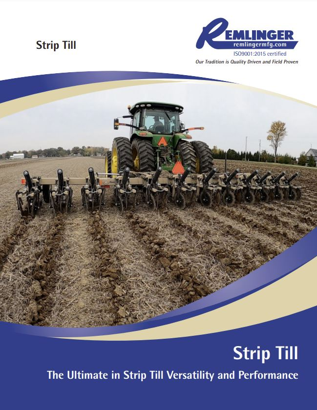 Strip Till Brochure Cover