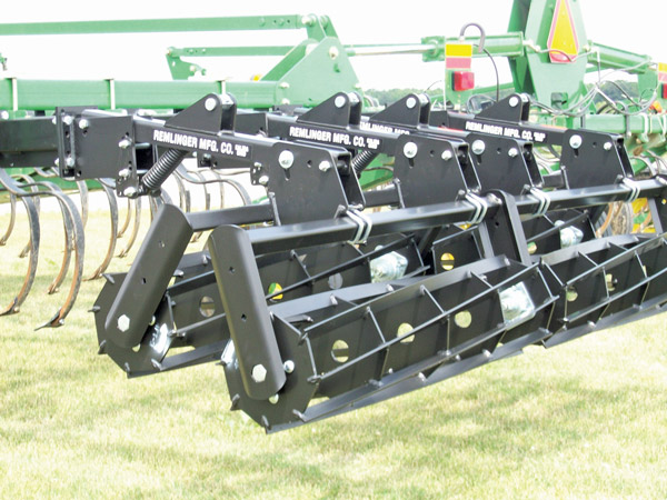Double Roller Harrow Closeup Image
