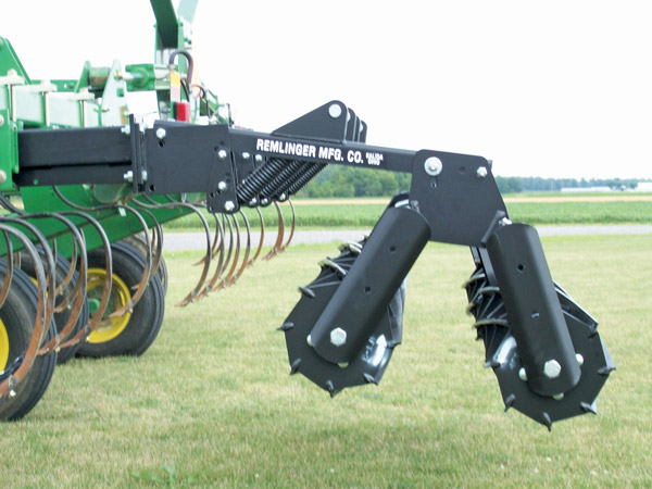 Double Roller Harrow From Remlinger