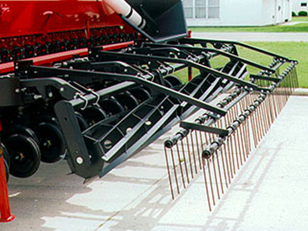 Roller Harrow for No-Till Drills closeup